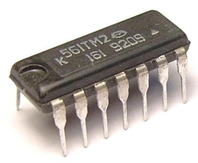 к561тм2 / микросхема